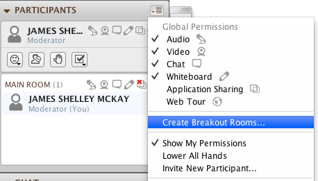 Create Breakout Rooms