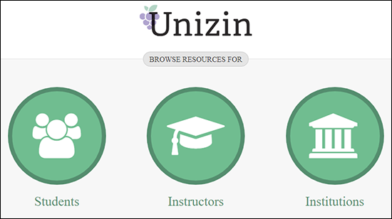 "A screenshot showing the Engage help menu with options to click on ""Students"" ""Instructors"" or ""Institutions"" buttons for links to Engage documentation focused on those areas."
