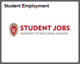 Student employment tile