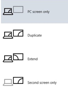 windows 10 display options
