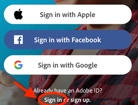 Adobe Scan Sign In
