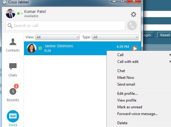 Cisco VoIP - Voicemail in Jabber (Windows/Mac)