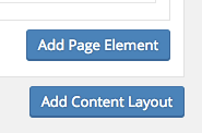 Add Page Layout and Add Page Element image