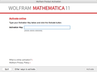 mathematica how to enter activation key